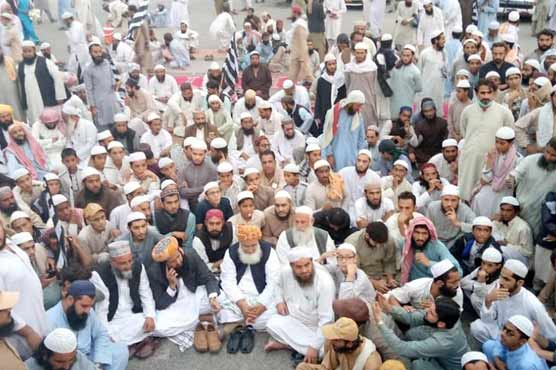 JUI-F closes highways in parts of country
