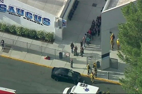 At least three wounded after shooting at California school