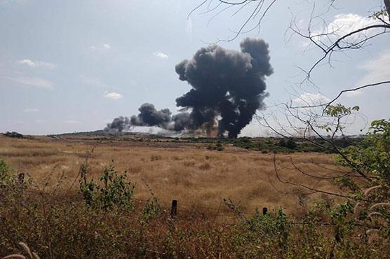 India's MiG-29 aircraft crashes in Goa