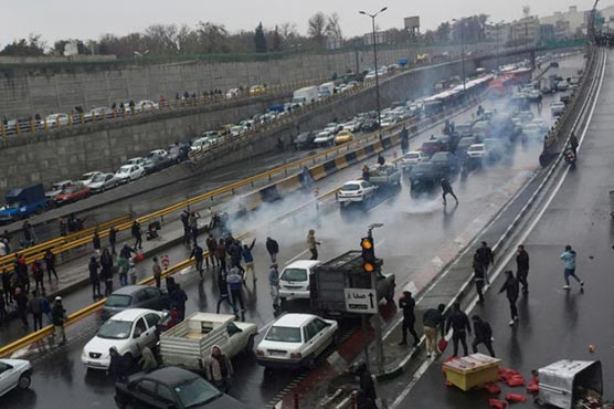 40 arrested during protests in Iran's Yazd: news agency
