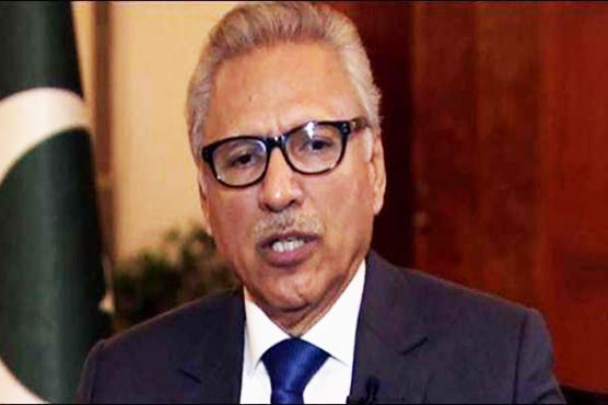 Indian forces using rape as a tool in occupied Kashmir: President Alvi