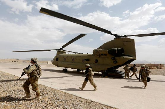 Two US troops killed in helicopter crash in Afghanistan