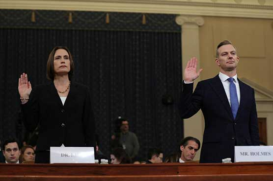Trump ex-Russia adviser Hill tells US lawmakers to stop promoting 'falsehoods'