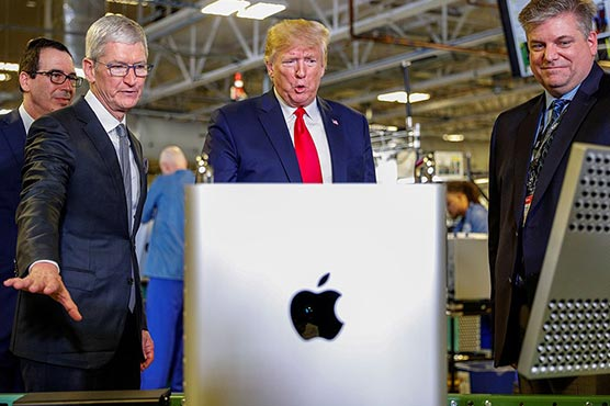 Trump wants Apple to be involved in 5G infrastructure building in U.S.
