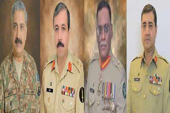 پاک فوج میں اعلیٰ سطح پرترقیاں، تقرریاں و تبادلے