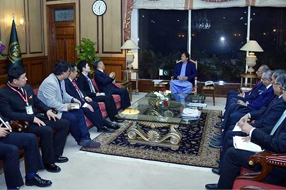 CPEC project to help reinforce country's economic development: PM