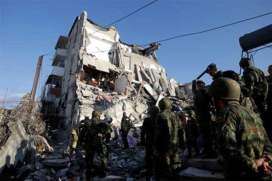 18 dead, hundreds hurt as powerful earthquake jolts Albania