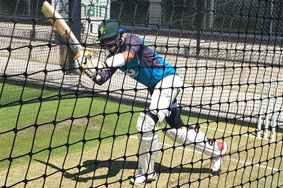 Pakistan conduct practice session at Adelaide Oval