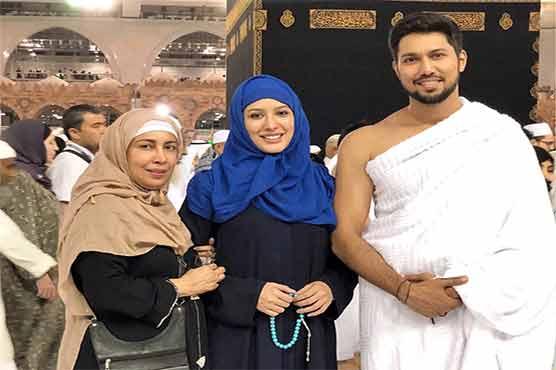 Mahwish Hayat performs Umrah