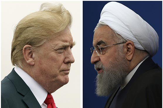 Iran's Rouhani blames Trump for failed France bid to initiate contact