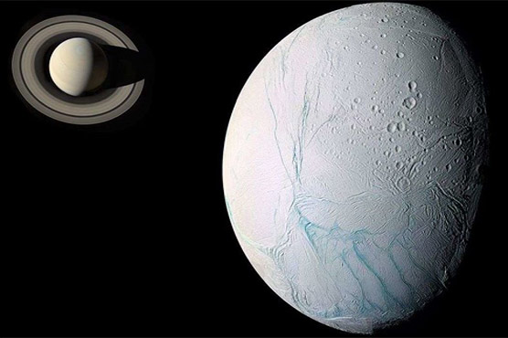 Pakistani scientist has discovered symptoms of life on Saturn moon