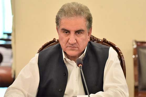 Sit-in on October 27 synonymous with 'playing on Indian pitch': FM Qureshi