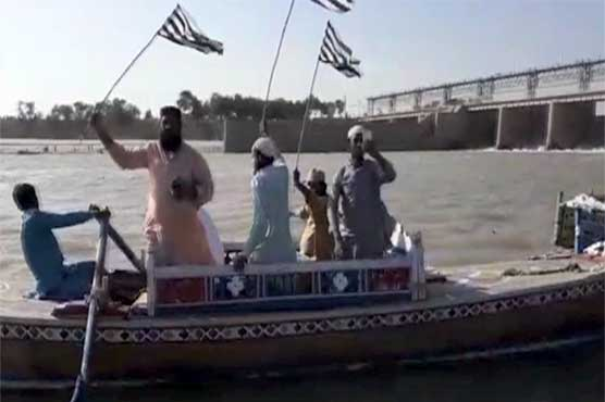 Upon blocking of highways, JUI-F plans to use waterways during Azadi March