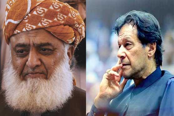 Azadi March: PM Imran tasks Noorul Haq Qadri to contact Fazlur Rehman