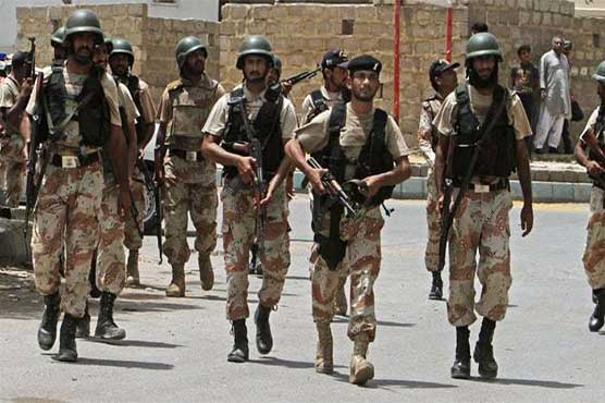 Notification issued to extend Rangers' powers in Karachi for 90 days