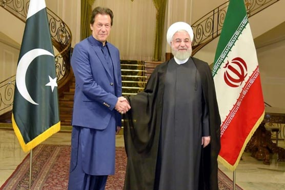 PM Khan, President Rouhani discuss bilateral matters, regional issues