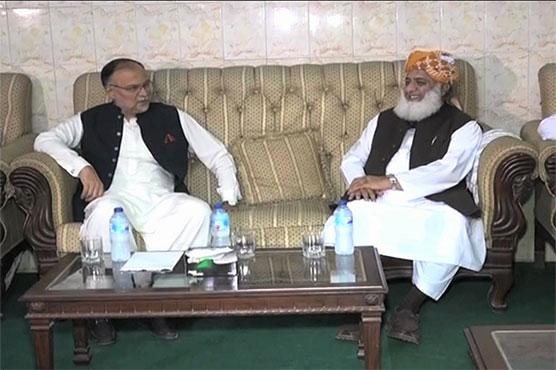 PML-N delegation calls on Fazlur Rehman