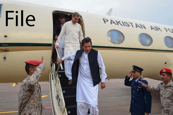 PM Imran returns after a day-long visit to Iran