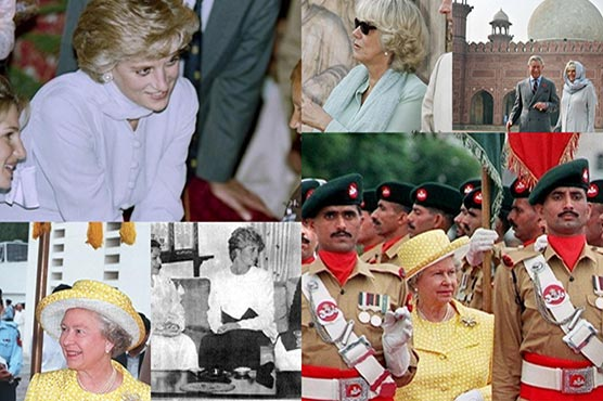 A brief look at the past visits of British royals to Pakistan