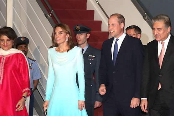 In Pictures: Pakistan welcomes British royal couple Prince William and Kate
