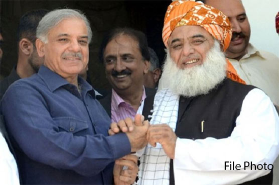 Azadi March: Fazlur Rehman to meet Shehbaz Sharif in Lahore tomorrow