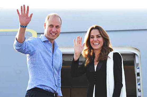 Prince William, Kate depart for UK after completing 5-day tour of Pakistan