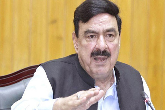 JUI-F's planned sit-in still in 'grey list': Sheikh Rasheed
