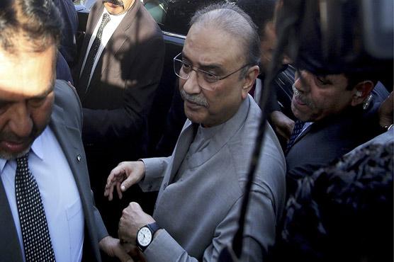 Money laundering case: Court extends Zardari, Talpur's judicial remand till Nov 12