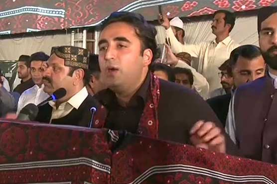 Will get rid of puppet rulers with help of people: Bilawal Bhutto