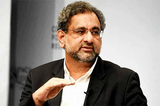 Petition filed in LHC against barring Shahid Khaqan Abbasi from attending NA session