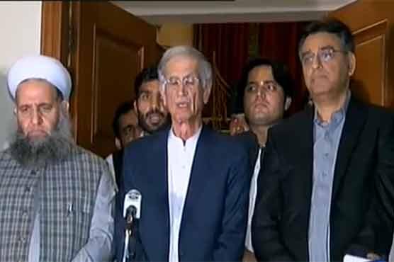 معاہدہ طے پا گیا، جلسہ ریڈ زون میں نہیں ہو گا: پرویز خٹک