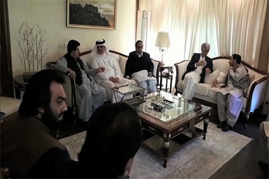 Saudi ambassador inquires about Ch Shujaat health