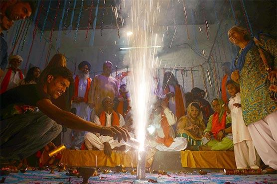 Pakistan's Hindu community celebrates Diwali, the festival of lights