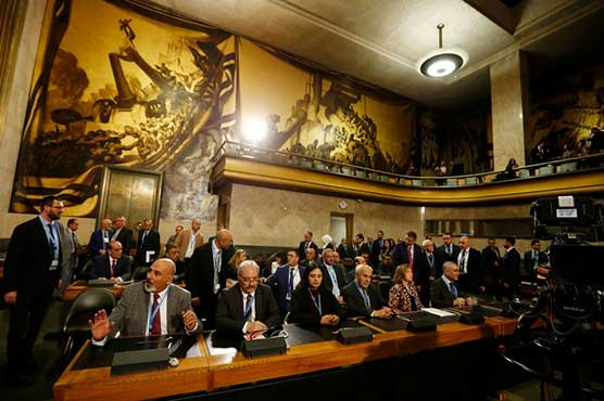Syria government, opposition open 'historic' constitutional review