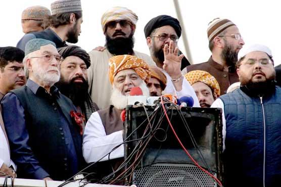 JUI-F's Azadi March marches towards its final destination
