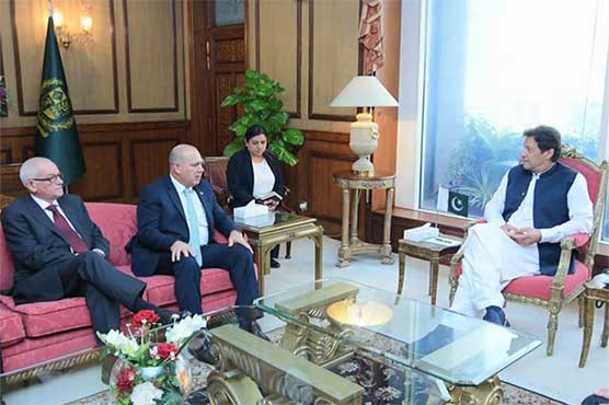 PM Imran apprises Cuban Vice President on situation in Occupied Kashmir