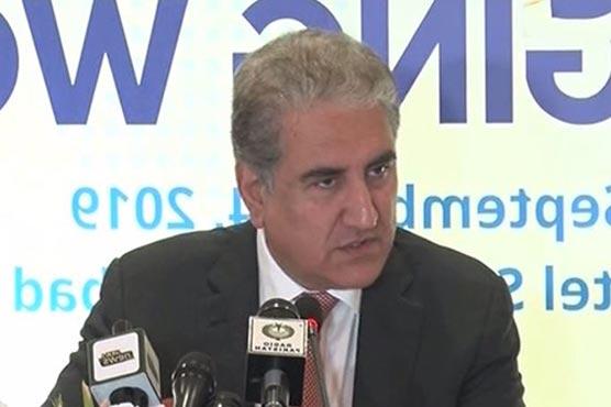 Pakistan wants permanent resolution of Kashmir conflict through talks: FM Qureshi