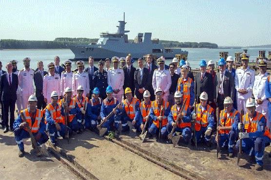 Second corvette vessel inducted into Pakistan Navy