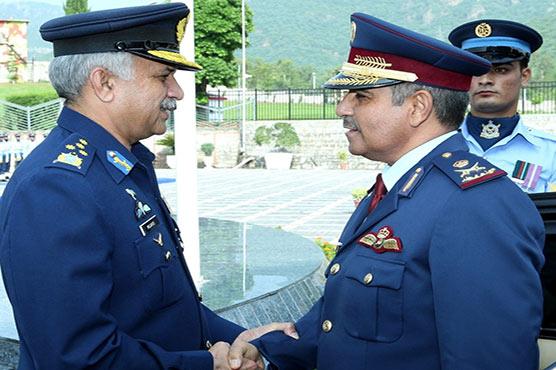Qatari Air Chief calls on PAF chief Mujahid Anwar Khan