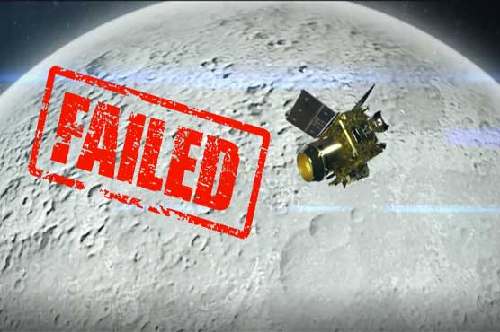 India loses contact with Chandrayaan-2, moon mission appears to end in failure