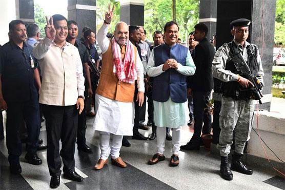 Won't allow illegal immigrants in Assam: Amit Shah