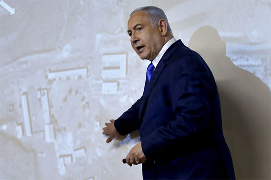 Netanyahu accuses Iran of destroying secret 'nuclear site'