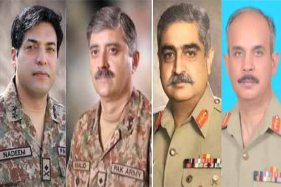 Pak Army's 4 major generals promoted to rank of lieutenant general: ISPR