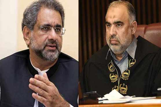 Abbasi urges speaker to issue production orders of detained MNAs indiscriminately