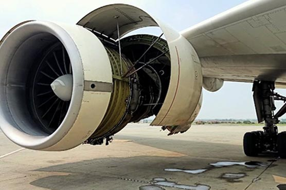 Lahore: PIA aircraft's engine catches fire soon after takeoff