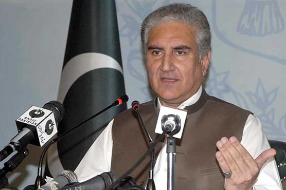 SCI's ruling on occupied Kashmir conceded Pakistan's stance: FM Qureshi