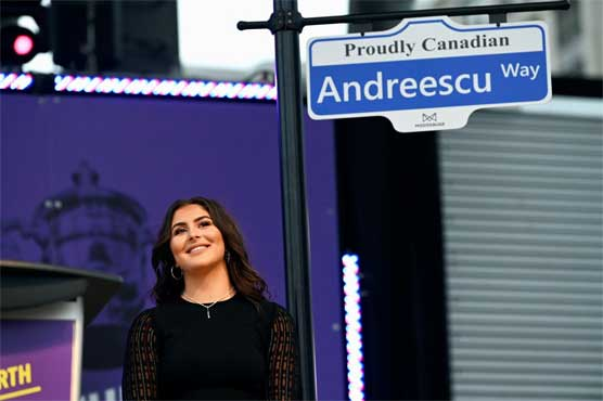 Holding court: It's Bianca Andreescu Day in Toronto