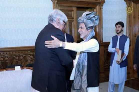 Anp S Asfandyar Wali Meets Afghan President Ashraf Ghani Pakistan Dunya News