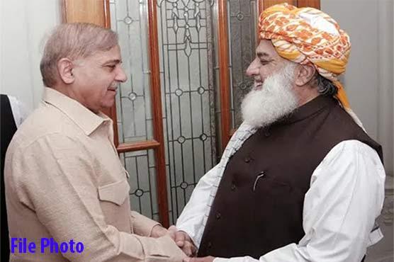 Opposition's Azadi March: Fazlur Rehman to meet Shehbaz Sharif today