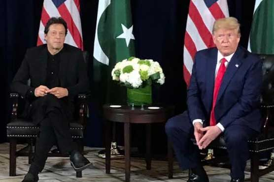 Pakistan PM presses Trump to seek Taliban deal